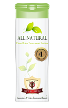 Natural Head Lice Treatment Lotion